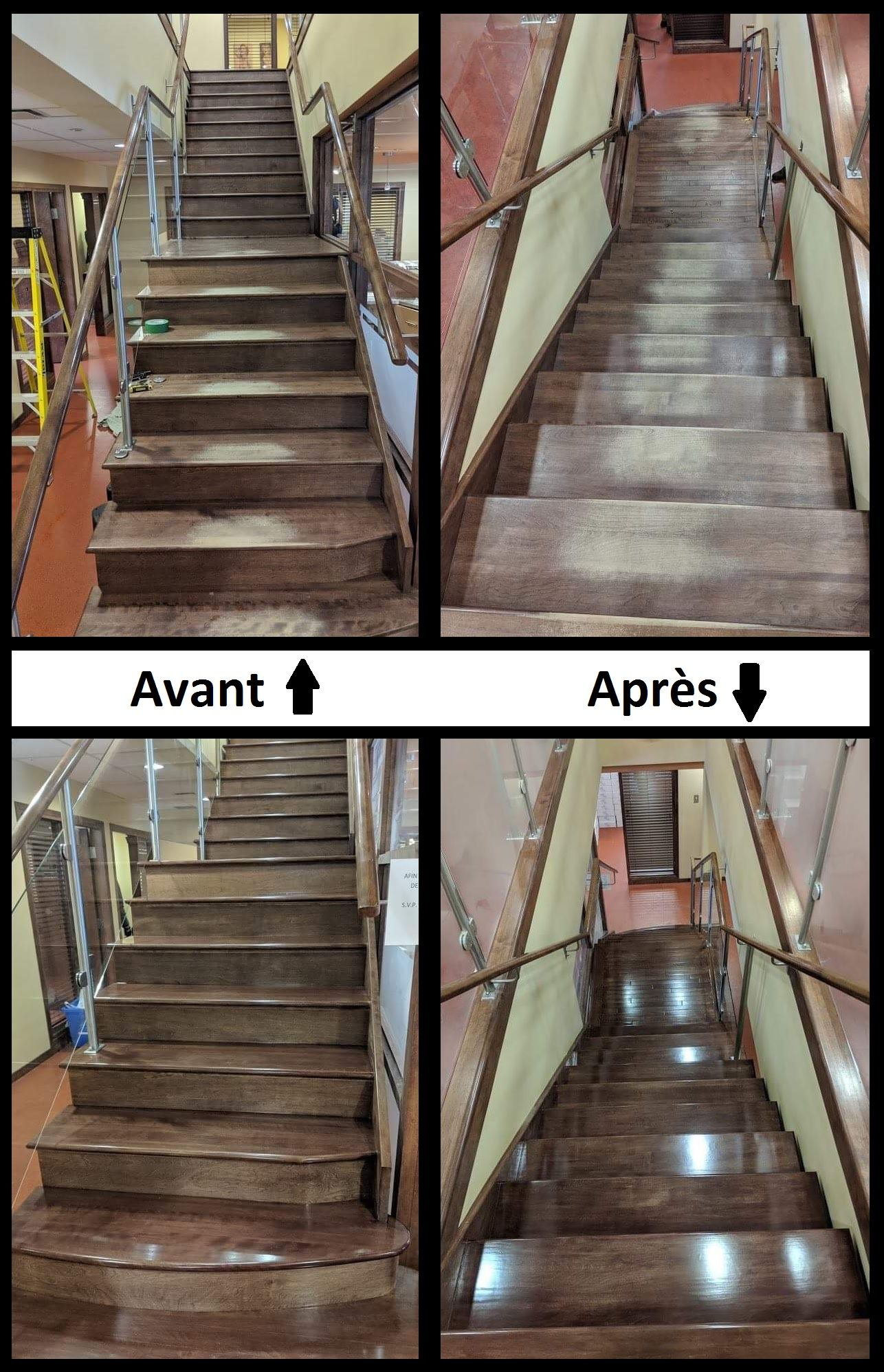 Restoration of a staircase
